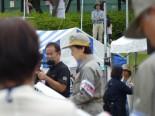 横浜市総合防災訓練に参加しました。